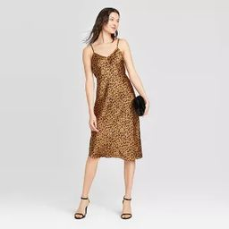 Women's Satin Slip Dress - A New Day™ | Target