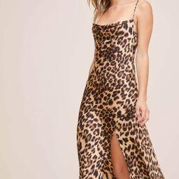 Gaia Animal Midi Dress | ASTR The Label (US)