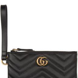 Black GG Marmont Wallet | SSENSE