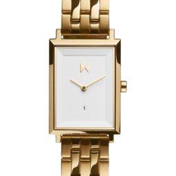 Mvmt Women's Charlie Gold-Tone Stainless Steel Bracelet Watch 24mm | Macys (US)