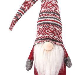 Funoasis Holiday Gnome Handmade Swedish Tomte, Christmas Elf Decoration Ornaments Thanks Giving D... | Amazon (US)