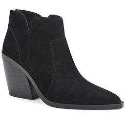 Vince Camuto Women's Gradesha Stacked-Heel Booties & Reviews - Boots - Shoes - Macy's | Macys (US)
