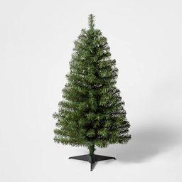 3ft Pre-Lit  Alberta Spruce Clear Lights Artificial Christmas Tree - Wondershop™   Target