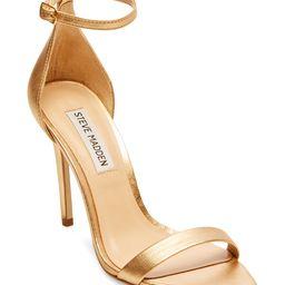 Steve Madden Women's Sandals METALLIC - Gold Metallic Sane Ankle-Strap Pump - Women | Zulily