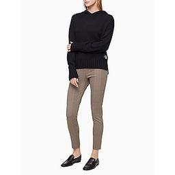 Glen Check Plaid Pull-On Ankle Pants | Calvin Klein (US)