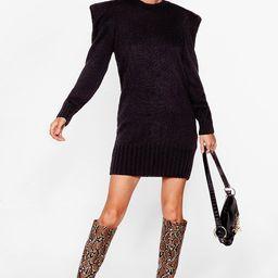 Power Up Knitted Mini Dress | NastyGal (US & CA)