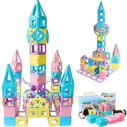 Magblock Magnetic Building Blocks STEM Educational Toys Tiles Set for Boys & Girls Magnet Stackin... | Amazon (US)