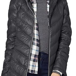 Calvin Klein Women's Chevron Quilted Packable Down Jacket (Standard and Plus)   Amazon (US)