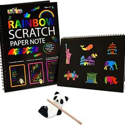 Fricon Create Rainbow Scratch Art for Kids - Best Gifts | Amazon (US)