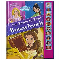Disney Princess - I'm Ready to Read Princess Friends Sound Book | Amazon (US)