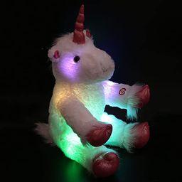 Wewill LED Colorful Unicorn Stuffed Animal Light up Cozy Plush Glow Soft Toy Bedtime Companion Gi... | Amazon (US)
