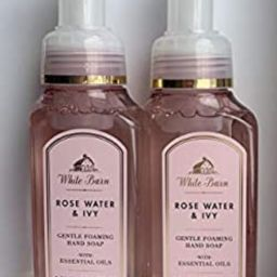 White Barn Gentle Foaming Hand Soap in Rose Water & Ivy (2 Pack)   Amazon (US)