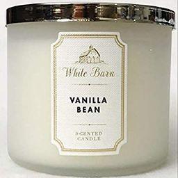 Bath & Body Works White Barn 3-Wick Candle in Vanilla Bean | Amazon (US)