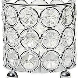 Elegant Designs Elipse Crystal Flower, Candle Holder, Wedding Centerpiece Decorative Candleholder... | Amazon (US)