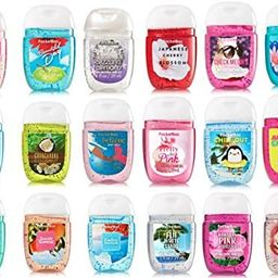 Bath and Body Works Anti-Bacterial Hand Gel 5-Pack PocketBac Sanitizers, Assorted Scents, 1 fl oz...   Amazon (US)