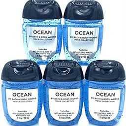Bath and Body Works OCEAN 5-Pack PocketBac Hand Sanitizers   Amazon (US)