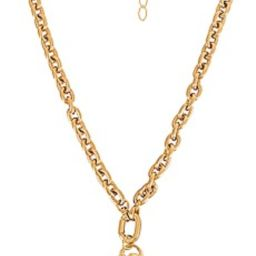 Electric Picks Jewelry Labyrinth Necklace in Gold from Revolve.com | Revolve Clothing (Global)