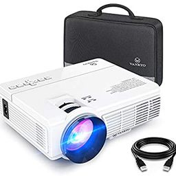 VANKYO LEISURE 3 Mini Projector, 1080P and 170'' Display Supported, Portable Movie Projector with... | Amazon (US)