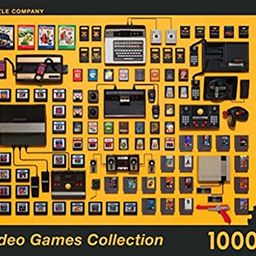 New York Puzzle Company - Jim Golden Video Games - 1000 Piece Jigsaw Puzzle | Amazon (US)