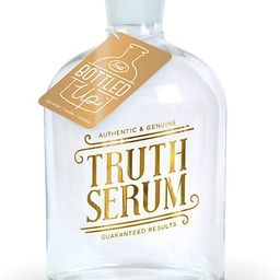 Fred BOTTLED UP Glass Spirits Decanter, Truth | Amazon (US)