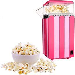 Hot-Air-Popper-Popcorn-Maker Machine Healthy,Free Oil,Light Pink | Amazon (US)