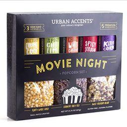 Urban Accents MOVIE NIGHT™ Popcorn Kernels and Popcorn Seasoning Variety Pack (set of 8) - 3 No... | Amazon (US)