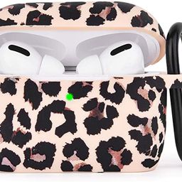 AIRSPO Silicone Cover Compatible AirPods Pro Case Floral Print Protective Case Skin for Apple Air...   Amazon (US)