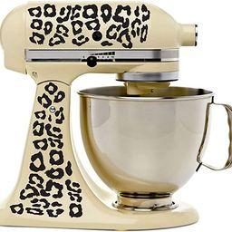 Leopard Print Kitchenaid Mixer Mixing Machine Decal Art Wrap   Amazon (US)