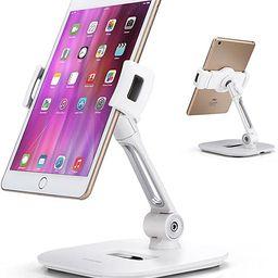 AboveTEK Stylish Aluminum Tablet Stand, Cell Phone Stand, Folding 360° Swivel iPad iPhone Desk M... | Amazon (US)