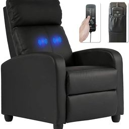 Recliner Chair for Living Room Massage Recliner Sofa Reading Chair Winback Single Sofa Home Theat... | Amazon (US)