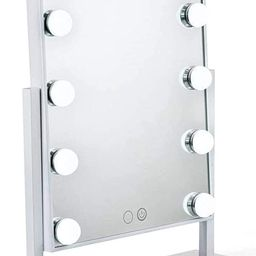 Waneway Lighted Vanity Mirror with 12 x 3W Dimmable LED Bulbs and Touch Control Design, Hollywood...   Amazon (US)