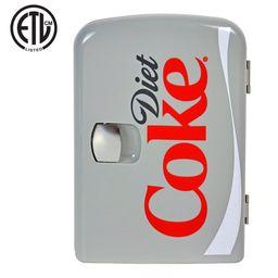Diet Coke 4 Liter/6 Can Portable Fridge/Mini Cooler for Food, Beverages, Skincare - Use at Home, ... | Walmart (US)