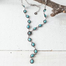 Turquoise Y-Necklace | Rod's Western Palace/ Country Grace