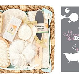 Spa Sets for Women, Mother's Day Relaxation Gift Basket, Spa Kits for Women, Body Brush Set, Spa ... | Amazon (US)