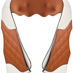 Neck Massager with Heat,Deep Kneading Back Massager,3D Massage for Back Neck Shoulder Waist and F... | Amazon (US)