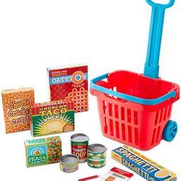 Melissa & Doug Grocery Basket Play Set | Amazon (US)