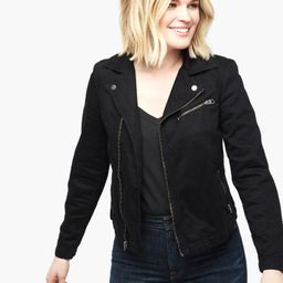The Imelda Moto Jacket -               $178           $148or 4  payments of $37.00 by  ⓘ | Live Fashionable