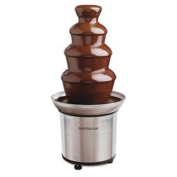 Nostalgia Electrics 3-Tier Chocolate FondueFountain   QVC