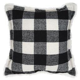 Christmas Black & White Buffalo Check Pillow by Ashland®   Michaels Stores