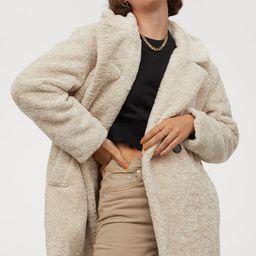 Teddy Bear Coat   H&M (US)