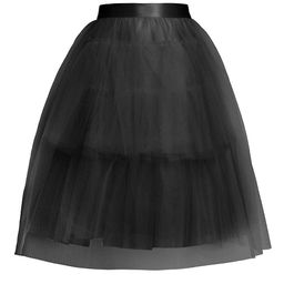 Simone Rocha Women's Full Tiered Tulle Tutu Skirt - Black - Size 4 UK (0 US)   Saks Fifth Avenue