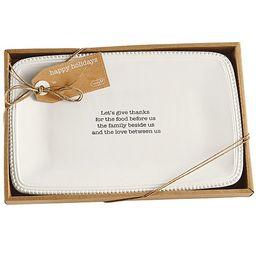 Harvest Boxed Sentiment Platter   Dillards