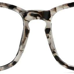 TIJN Blue Light Blocking Glasses Square Nerd Eyeglasses Frame Anti Blue Ray Computer Game Glasses | Amazon (US)