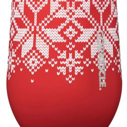 Fair Isle Insulated Stainless Steel Wine Glass   Nordstrom