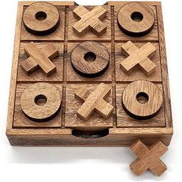 Tic Tac Toe Wood Coffee Tables Family Games to Play and a Classic Game Home Decor for Living Room...   Amazon (US)