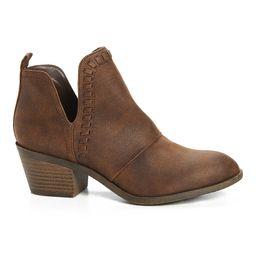 Rock & Candy Women's Casual boots BROWN - Brown Lipton Bootie - Women | Zulily
