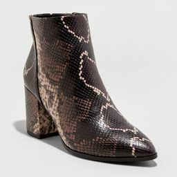 Women's Luella Block Heeled Fashion Boots - A New Day™ | Target