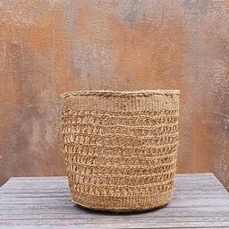 PEKEE: Natural open weave sisal basket | Etsy (US)