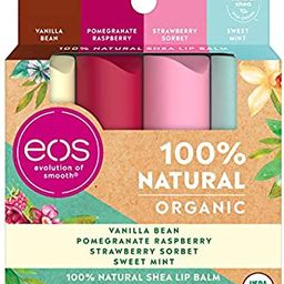 eos USDA Organic Lip Balm - Variety Pack Lip Care to Nourish Dry Lips 100% Natural and Gluten Fre...   Amazon (US)