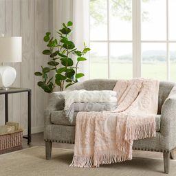 "Home Essence Mila 100 Percent Cotton Tufted Throw Blanket, 50""W x 60""L | Walmart (US)"